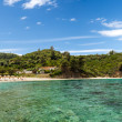 Bahibeach panorama, Sithonia, Greece — Stock Photo #40502103