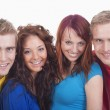Portrait of a group of young — Stock Photo #11215886