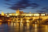 Praga, Ponte Carlo — Foto Stock