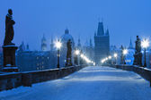 Prague Charles Bridge — Stock Photo