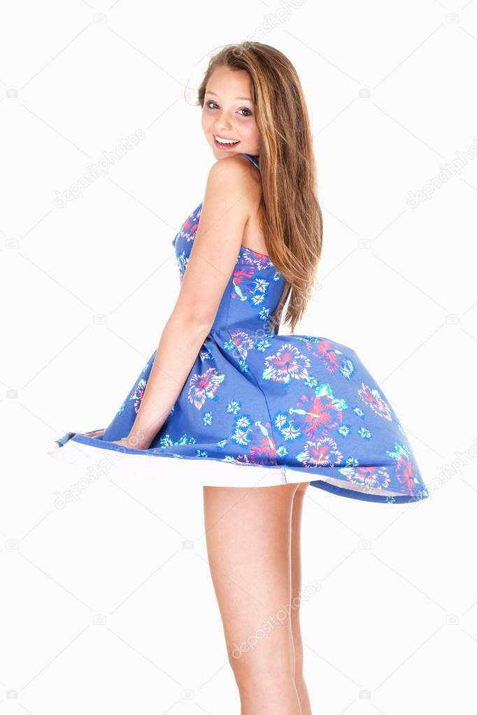 The girls in their summer dresses essay