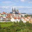 Prague - Hradcany Castle and St. Vitus Cathedral — Stock Photo #36823397