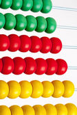 Colorful Wooden Abacus — Stockfoto