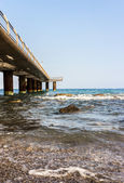Panoramic pier — Stock Photo