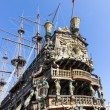 Neptune galleon — Stock Photo