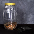 Royalty-Free Stock Photo: Large Jar of Money