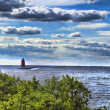 Lighthouse on the Bay — Stock Photo