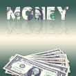 Money Graphic — Stock Photo