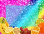 Fruity Background — Stock Photo
