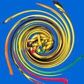 Crayons Abstract Illustration — Stock Photo