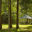 Gazebo in Woods — Stock Photo