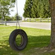 Tire Swing — Stockfoto