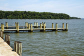 Boating Docks and Piers — Stock Photo