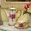 Vintage Vanity Tea Set — Stockfoto