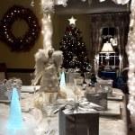 Christmas Eve Celebraton Dinner Party — Stock Photo #37907063