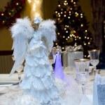 Christmas Eve Celebraton Dinner Party — Stock Photo #37907069