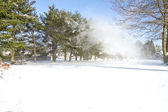Snow Whirl-wind — Stock Photo