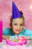 Girl's Birthday Party — Stock Photo