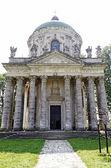 Roman Catholic church of the Exaltation of the Holy and St. Jose — Stock Photo