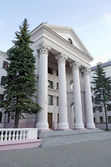Belarusian State Academy of Music — Stock Photo