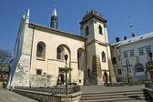 本笃会修道院在利沃夫 — 图库照片