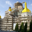 Unfinished Cathedral of the Transfiguration in Pochaev Lavra — Stock Photo