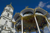 Belfry in Pochaev Lavra — Stock Photo