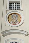 Mosaic of St. Barbara in the Pochaev Lavra — Stock Photo