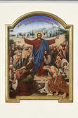 The painting of the Jesus Christ on the Holy Dormition Cathedral — Stock Photo