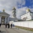 Entrance in the Holy Dormition Pochaev Lavra - Stock Photo