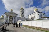 Entrance in the Holy Dormition Pochaev Lavra — Stock Photo