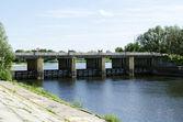Most přes řeku brána — Stock fotografie