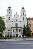 Kathedraal van de heilige maagd maria in minsk — Stockfoto