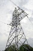 Elektrické přenosové vedení — Stock fotografie