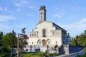 Kościół ave. wstawiennictwo dziewicy we lwowie — Zdjęcie stockowe