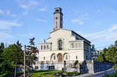 Kostel panny ve lvově přímluvě ave — Stock fotografie