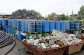 Recycling scrap metal — Stock Photo