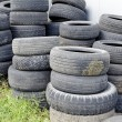 Stock Photo: Old tires