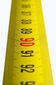 Yellow tape-measure — Stock Photo