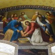 ������, ������: Interior of the Barbara Church in Pochaev Lavra the painting on