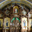 Interior of the Barbara Church in Pochaev Lavra — Stock Photo