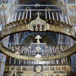 Interior of the Trinity cathedral in Pochaev Lavra (Pochayiv) ne — Stock Photo