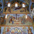 Stock Photo: Interior of Trinity cathedral in Pochaev Lavra, painting