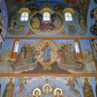 Interior of the Trinity cathedral in Pochaev Lavra, the painting — Stock Photo #17344651