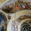 Interior of the Barbara Church in Pochaev Lavra, the painting on — Stock Photo #17344829