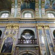 Interior of the Holy Dormition Cathedral in Pochaev Lavra (Pocha — Stock Photo
