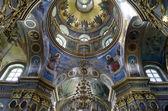 Interior of the Holy Dormition Cathedral in Pochaev Lavra (Pocha — Stock Photo