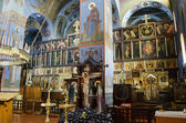 Interior of the Trinity cathedral in Pochaev Lavra (Pochayiv) ne — Stock Photo