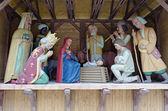 Nativity scene in lvov — Stock Photo