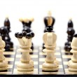Stock Photo: Chess, isolated over white